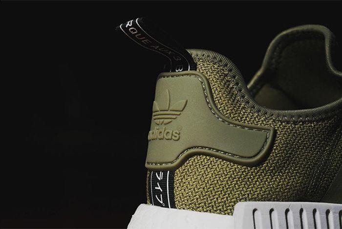 Adidas Nmd R1 Olive Green1