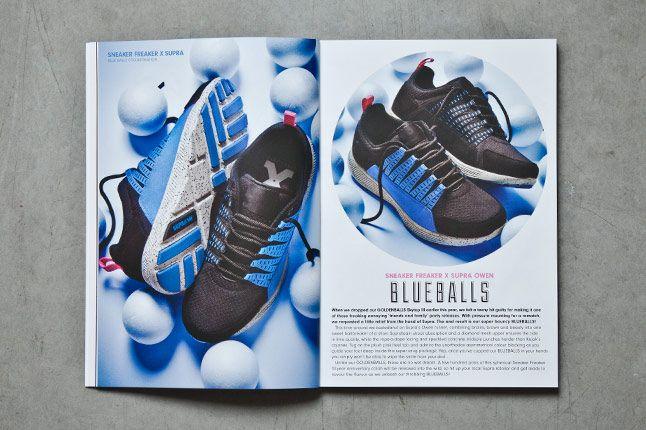 Sneaker Freaker Issue26 Blue Balls Cover 1