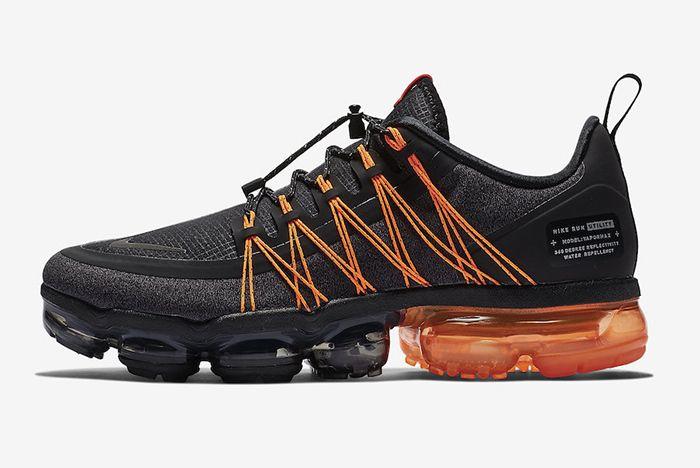 Nike Vapormax Run Utility Black Orange 2