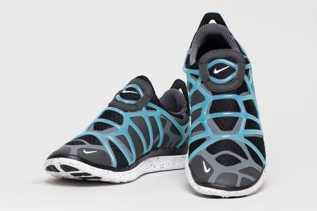 Nike Free Alt Closure Run Drkgrey Blue Hero 1