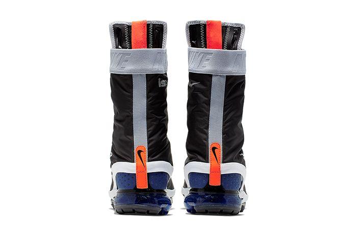 Nike Vapormax Gator Ispa Black White Ar8557 002 Release Date Heel