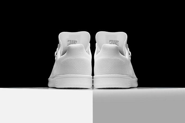 Adidas Stan Smith Primeknit Triple White2
