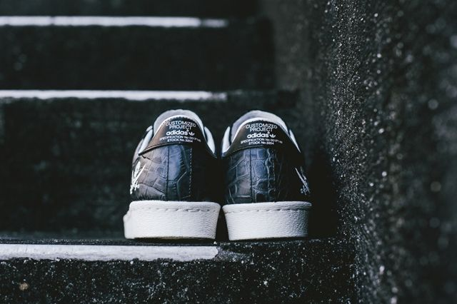 Neighborhood Nbhd X Adidas Adi Superstar 80 Snake Skin 3