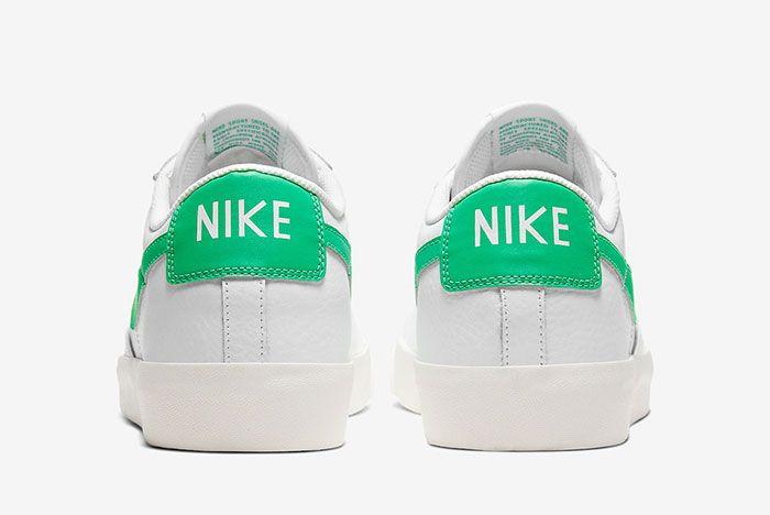 Nike Blazer Low Green Spark Ci6377 105 Heel