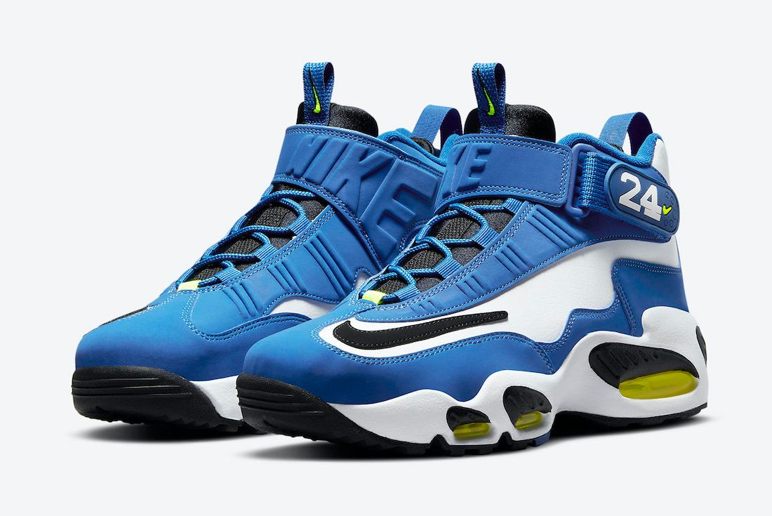 Nike Air Griffey Max 1 'Varsity Royal' 2021 official on white