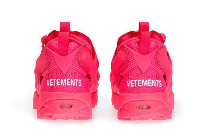 Vetement Reebok Neon Pump Pink 3