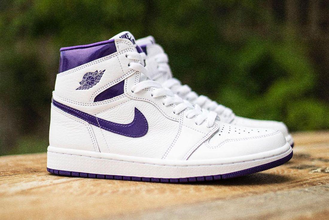 Air Jordan 1 High OG Court Purple