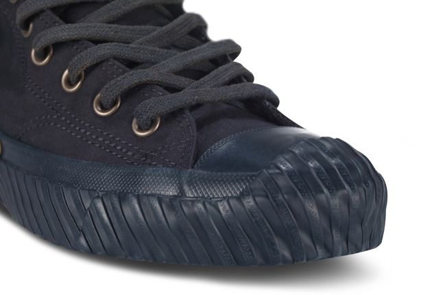 Nigel Cabourn Converse Bosey Boot Navy Toe Detail 1