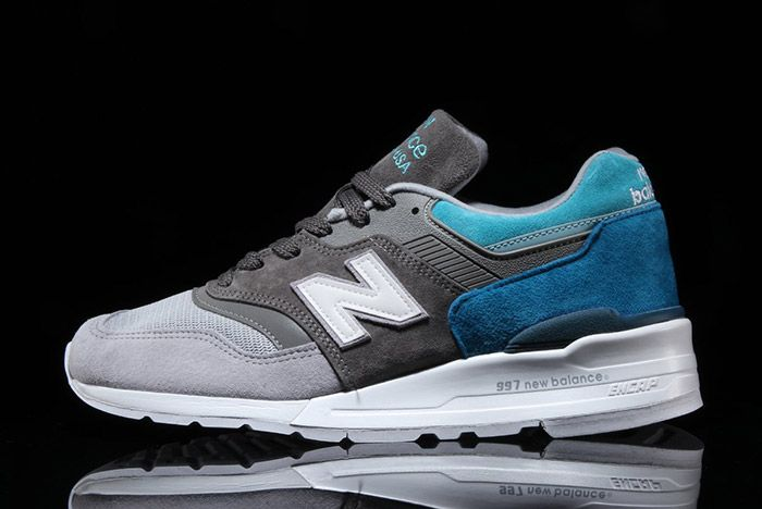 New Balance 997 Grey Blue Spectrum 7