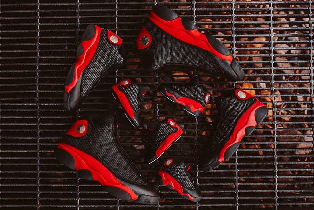 Air Jordan 13 Bred 5