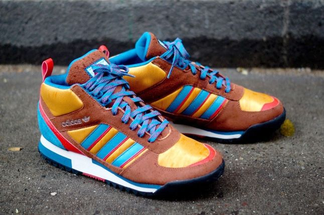 Adidas Zx Tr Mid Brown 1