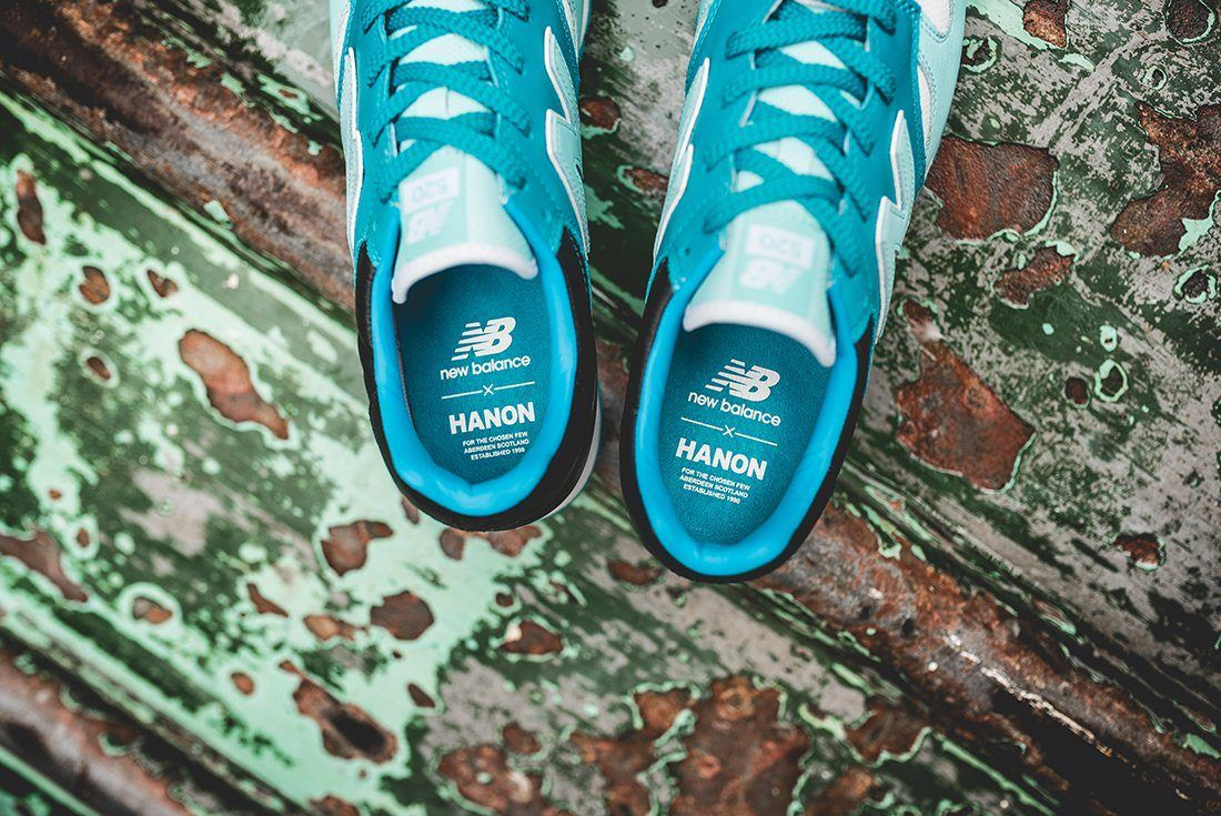 Hanon X New Balance U520 Hnf Fishermans Blues 6