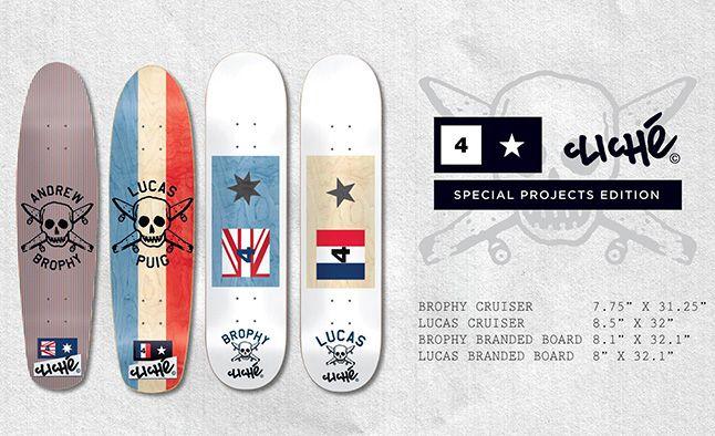 Cliche Fourstar Boards 1