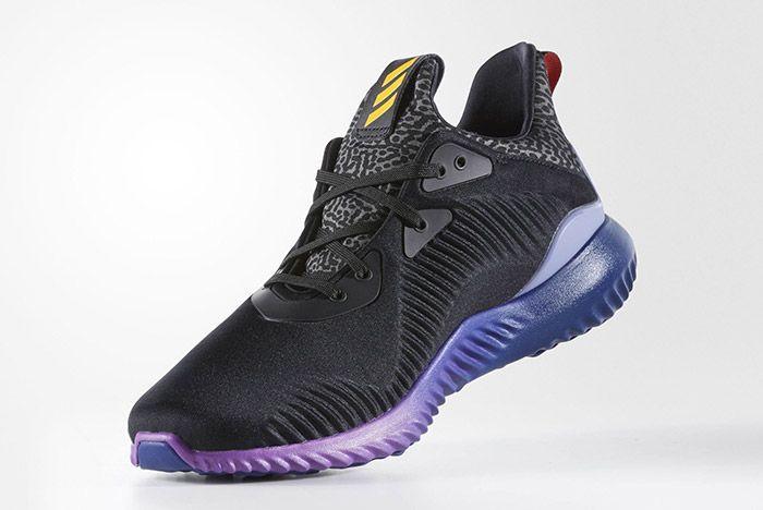 Adidas Aplhabounce Black Purple 2