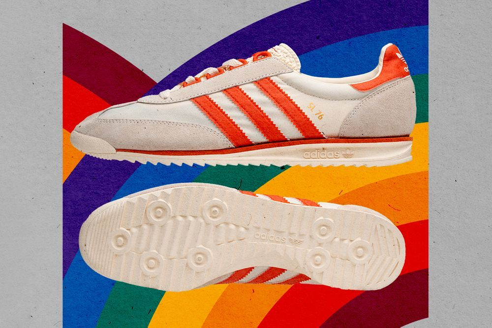 size? adidas Sl 76 Lottery Ticket Left