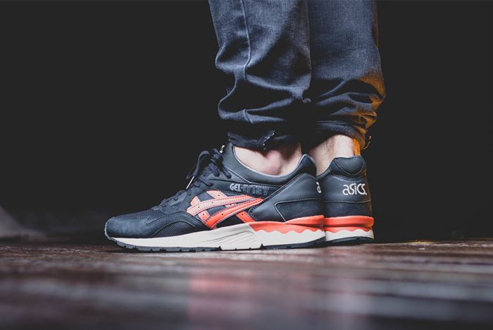 Asics Gel Lyte V Black Chilli 4