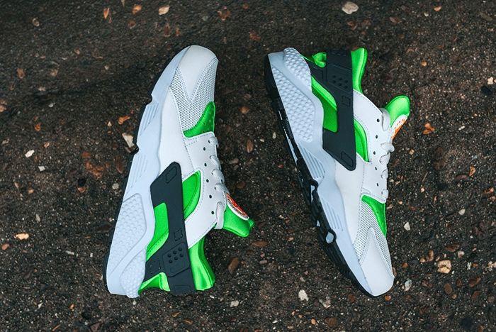 Nike Air Huarache Action Green 3