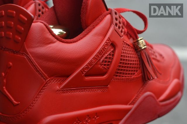 Dank Customs Air Jordan 4 Louis Vuitton 1