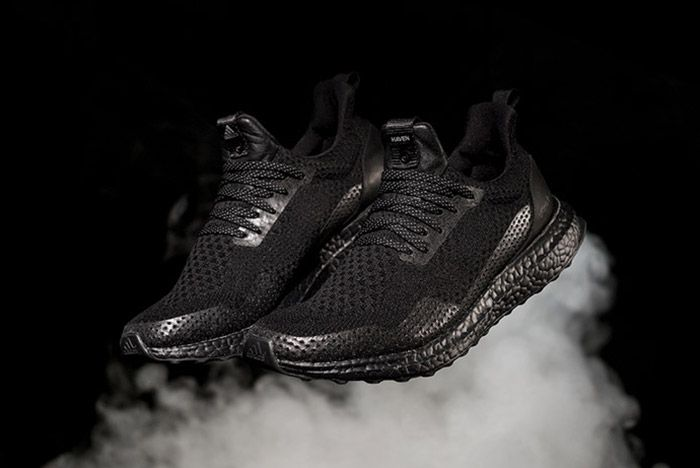 Haven X Adidas Consortium Ultra Boost Triple Black 1
