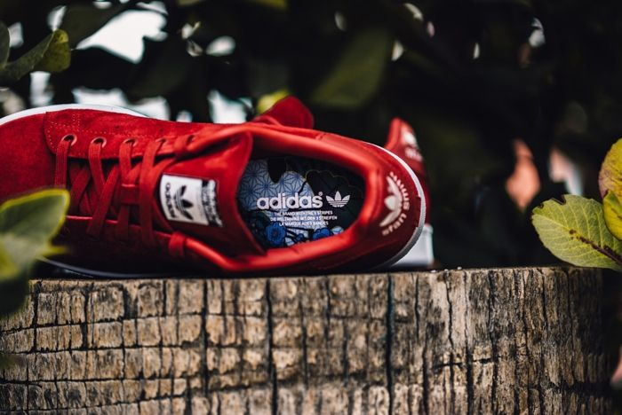Adidas X Rita Ora Stan Smith Red Feature Lv 2 1