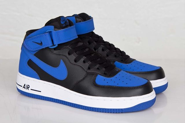 Nike Af1 Mid Royal 2