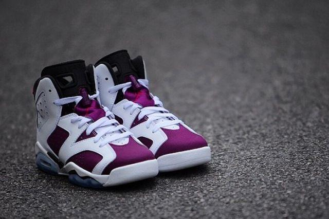 Air Jordan 6 Retro Gs Bright Grape 3