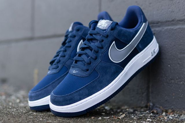 Nike Air Force 1 Low Midnight Navycool Grey