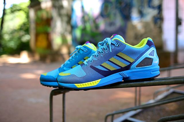 Adidas Originals Zx Flux Aqua 17