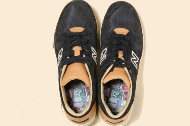 Beauty Youth New Balance 1700 Navy Birds Eye 1