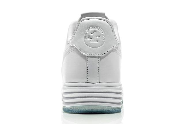 Nike Lunar Force One White Ice Heel Detail 1