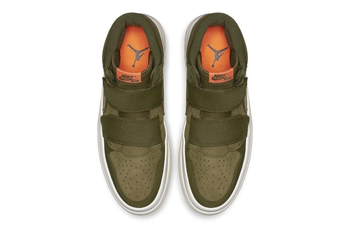 Air Jordan 1 High Double Strap Olive 2
