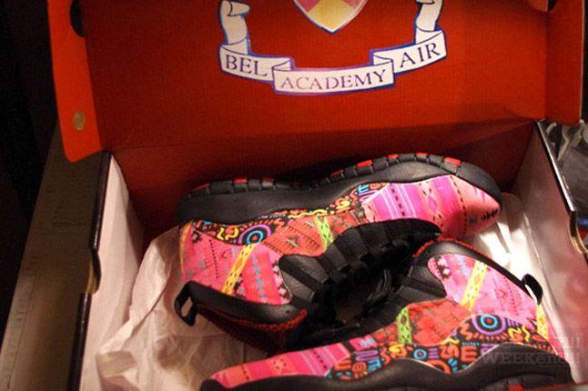 Rocket Boy Nift Bel Air Academy Jordans Pair 1