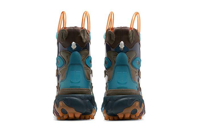Undercover Nike React Boot Brown Release Date Heel