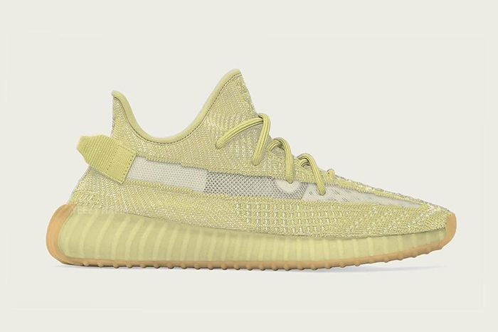 Adidas Yeezy Boost 350 V2 Antlia Yellow First Look Release Date Lateral