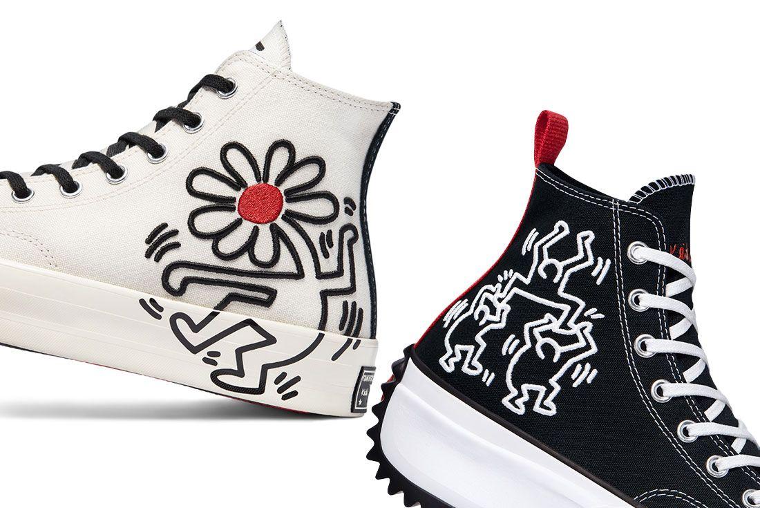 Keith Haring x Converse