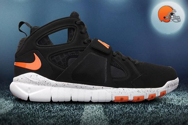 Cleveland Browns Huarache Free Shield 1