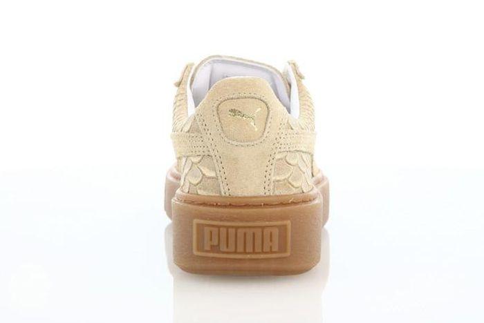 Puma Platform Exotic Skins Natural Vachetta 4