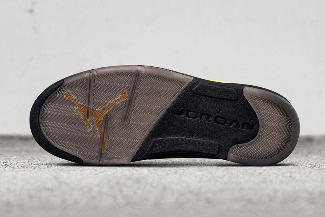 Air Jordan 5 Fab Five Yellow Black 6