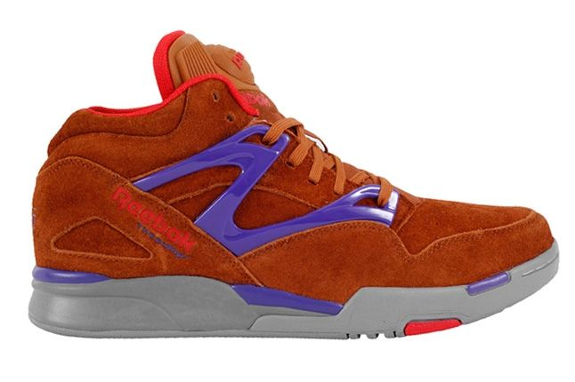 Reebok Pump Omni Lite Brown Profile 1
