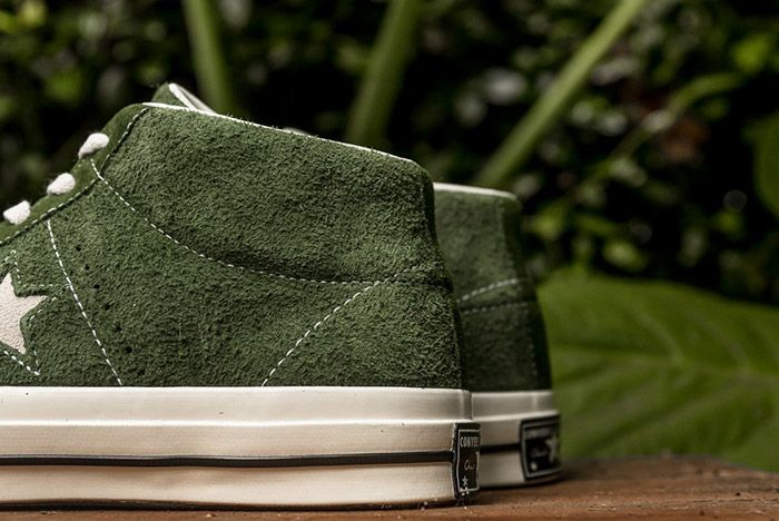 Converse One Star Mid Shadow Green 1