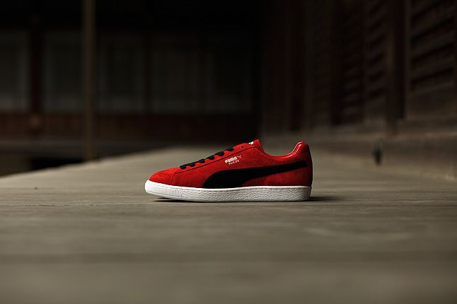 Puma Suede Made In Japan Red 1