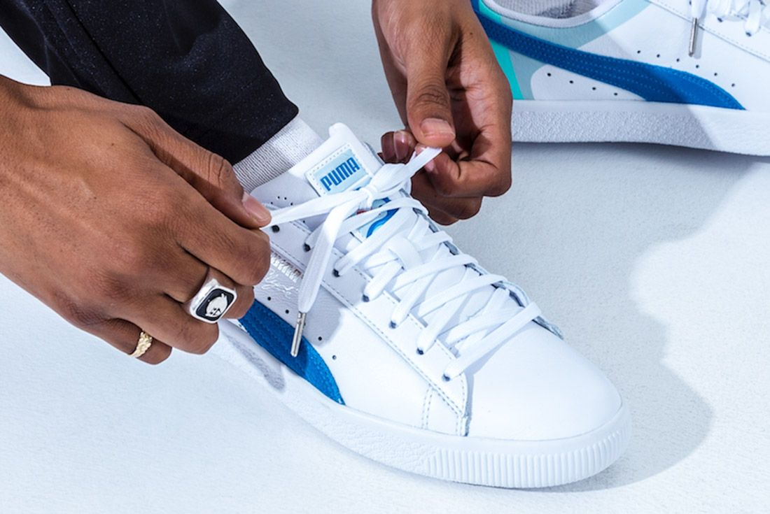 Pink Dolphin X Puma Clyde Pack Sneaker Freaker 6