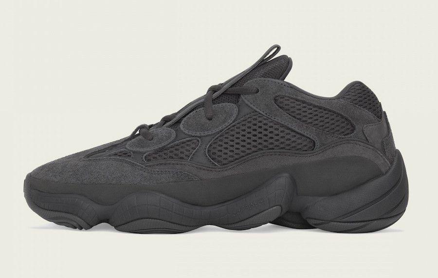 Yeezy 500 'Utility Black'