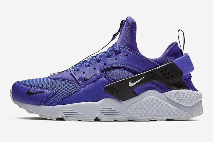 Nike Air Huarache Zip Purple 2