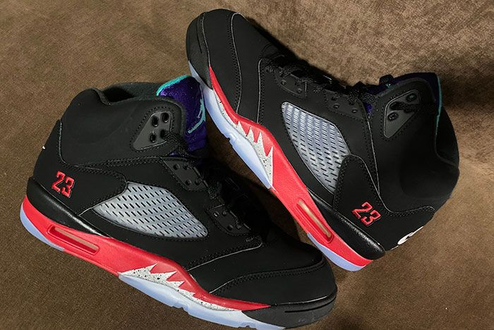 Air Jordan 5 Top 3 2020 Cz1786 001 Release Date 3 Leaked Shots