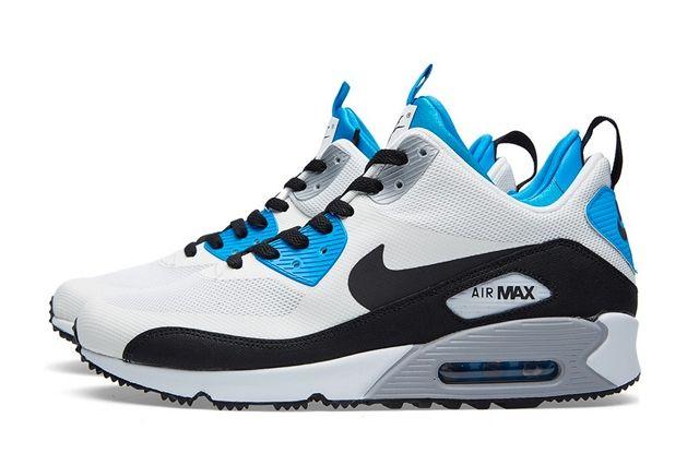 Nike Air Max 90 Sneakerboot Royal Blue 2