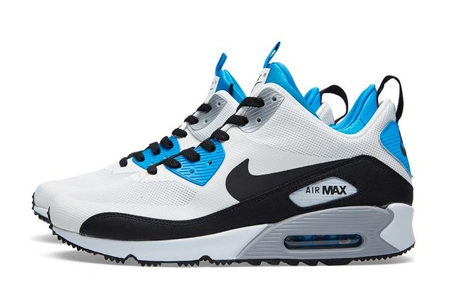 Nike Air Max 90 Sneakerboot Royal Blue 2