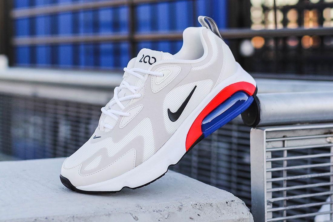 Nike Air Max 200 Womens At6175 100 Lateral