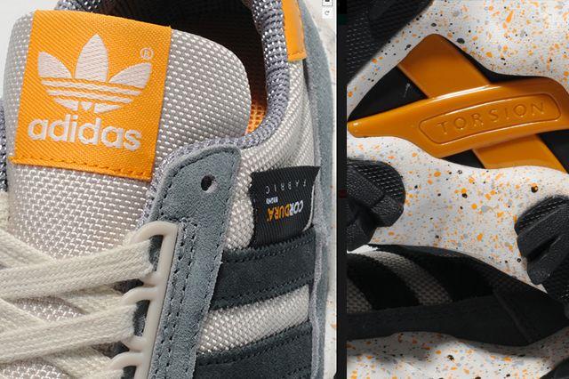 Adidas Originals Zx 500 Trail Slate Grey Mango 1
