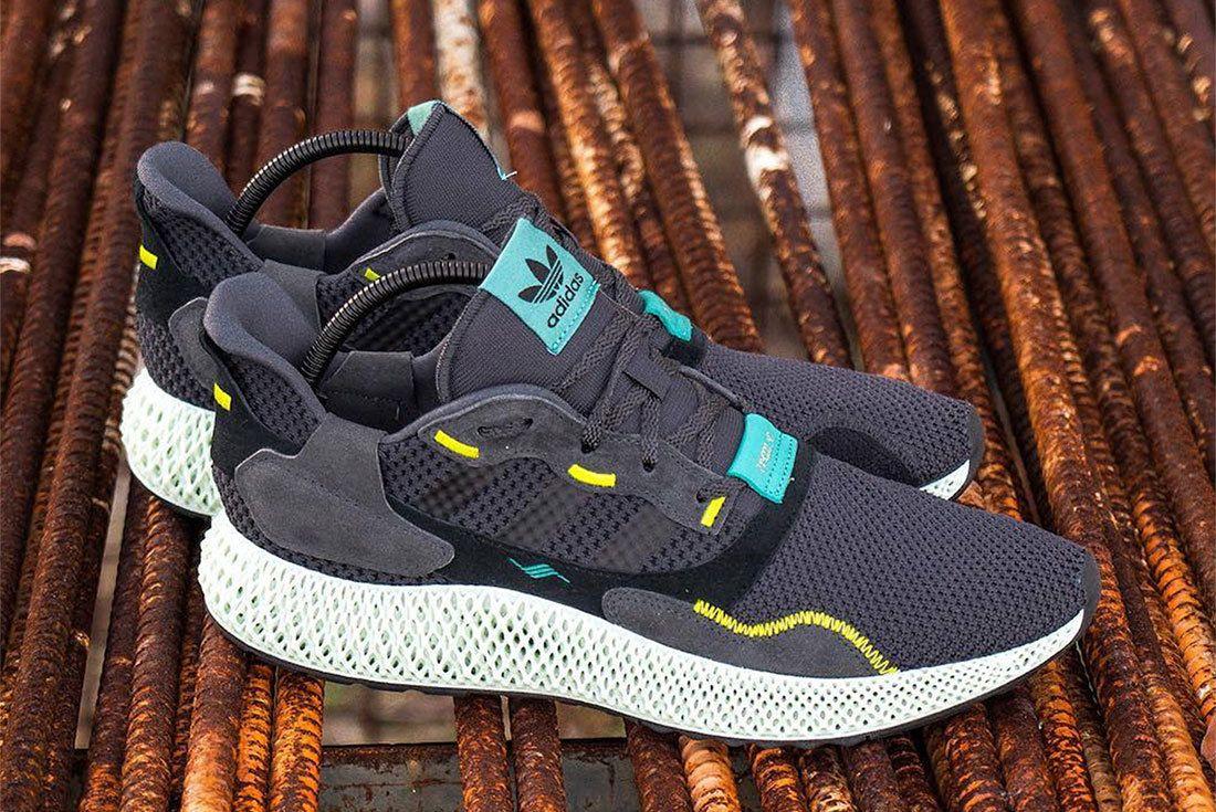 Adidas Zx4000 4D Carbon 3
